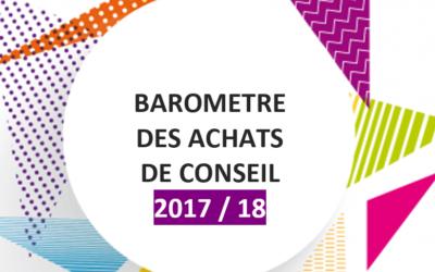 Baromètre des Achats de Consult'in France 2017